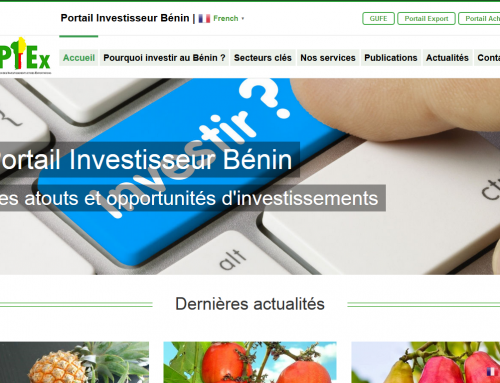 Portail Investisseur Bénin